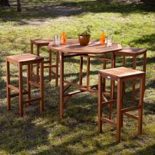 Trinidad Outdoor 5Pc Gathering Set
