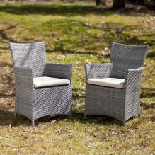 Bristow Outdoor Easy Chairs 2Pc Set