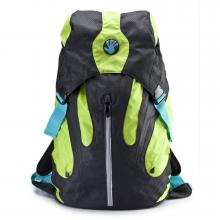 Kampus Backpack (Black/Green)