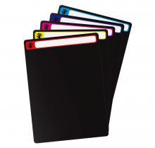 D2I DVD Divider For Storage Boxes (10 Pack+Labels)