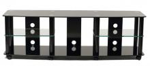 TV Stand With 5 Audio Video Component Shelves
