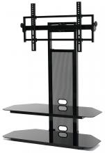 LCD/LED TV Mounting System With 2 Av Component Shelves