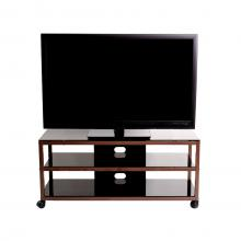 TV Stand / Cart with 2 AV Shelves for up to 55