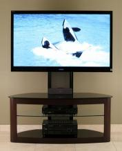 Flat Panel TV Universal Mounting System (Espresso with Black)