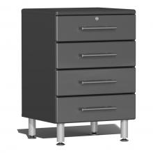 Ulti-MATE Garage 2.0 Series 4-Drawer Base Cabinet Graphite Grey
