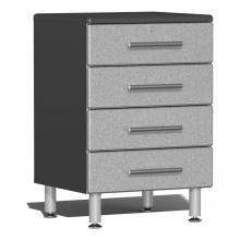 Ulti-MATE Garage 2.0 Series 4-Drawer Base Cabinet Stardust Silver Metallic