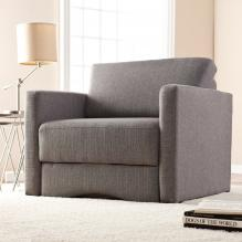 Tyndall Sleeper Chair w/ Storage - Gray