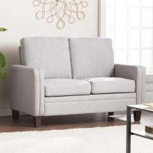 Norden Small Space Loveseat - Dove Gray