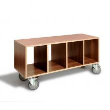 BBox4 - Walnut with casters
