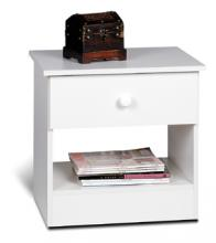 White Edenvale Nightstand