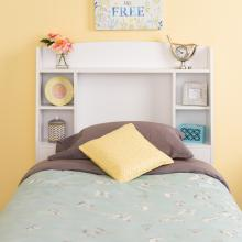 Astrid Twin Headboard, White