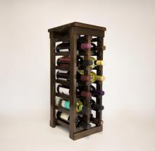 Classic Wood Wine Rack - 12 Bottle