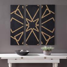 Mavlani Decorative Wall Panels - 3pc Set