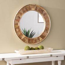 Edensor Round Decorative Mirror