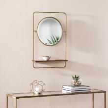 Condray Entryway Mirror w/ Shelf