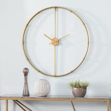 Duzen Large Metal Clock