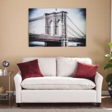 The Brooklyn Bridge Glass Wall Art