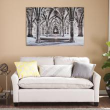 Gothic Arches Glass Wall Art