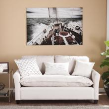 Open Seas Glass Wall Art