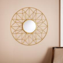 Kerala Round Decorative Mirror
