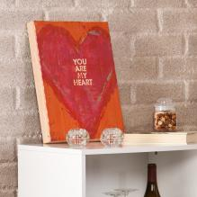 Holly & Martin Swoon Wall Panel - You Are My Heart