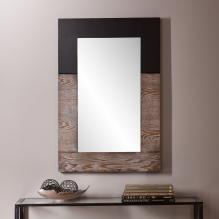 Holly & Martin Wagars Mirror - Burnt Oak/Black