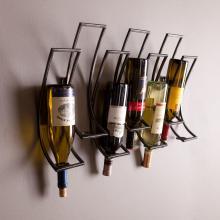 Callisto Wall Mount Wine Rack