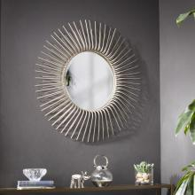 Trevella Round Oversized Sunburst Wall Mirror