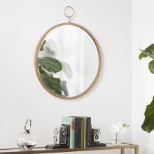 Lorena Decorative Wall Mirror - Antique Bronze
