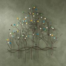 Gemstone Forest Wall Sculpture