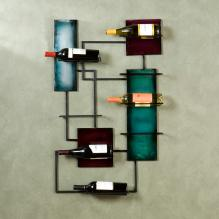 Wine Storage Wall Sculpture