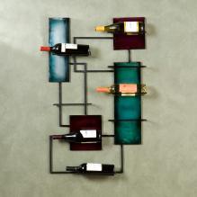 Wine Storage Wall Sculpture