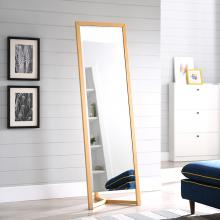 Wolbets Natural Full-Length Dressing Mirror