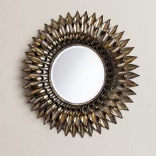 Leandro Round Decorative Wall Mirror