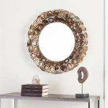 Jarva Round Decorative Mirror