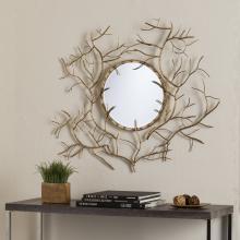 Branch Round Mirror