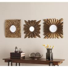 Linzy 3Pc Decorative Mirror Set