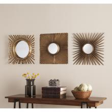 Lorzy 3Pc Decorative Mirror Set