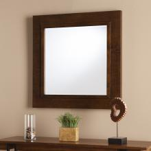 Dawson Decorative Mirror - Oak Saddle