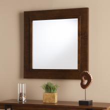 Dawson Decorative Mirror - Oak Saddle