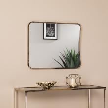 Alyce Large Decorative Mirror - Glam Style - Champagne