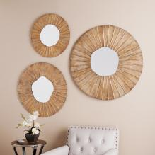 Lucien Decorative 3Pc Mirror Set