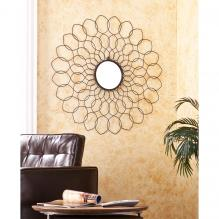 Spiro Mirrored Wall Sculpture