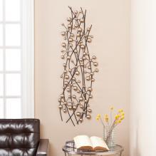 Vescia Metal Wall Sculpture