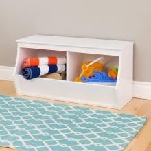 Monterey Stackable 2-Bin Storage Cubby
