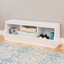 Monterey Stackable 3-Bin Storage Cubby