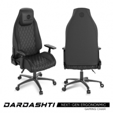 Atlantic Dardashti Gaming Chair - Commercial Grade, Ergonomic, Midnight