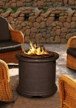 Island Series Chat Height Fire Pit 18 and a half inch