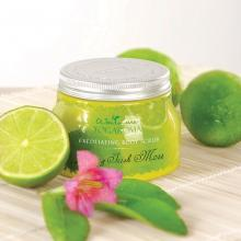 Exfoliating Body Scrub, Lime & Irish Moss