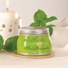 Exfoliating Body Scrub, Mint & Eucalyptus